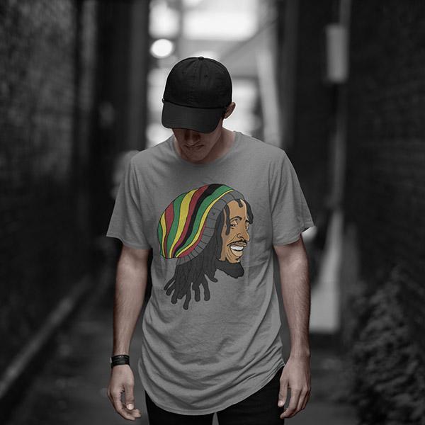 T-Shirt Rasta  Rastaman Vibration