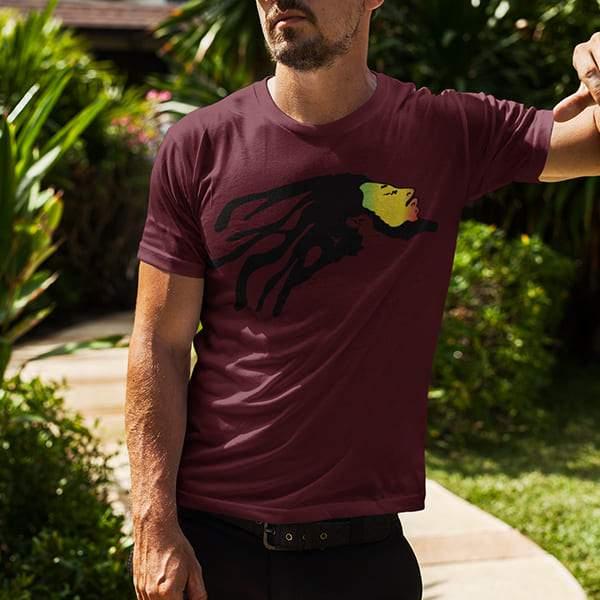 T-Shirt Rasta  Bob Nesta Marley