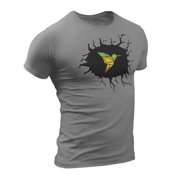 T-Shirt Rasta  Sombre Colibri