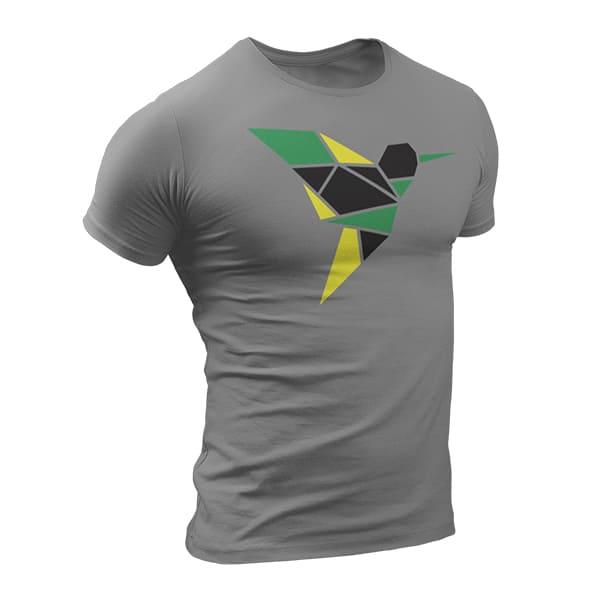 T-Shirt Rasta  Colibri De Jamaïque