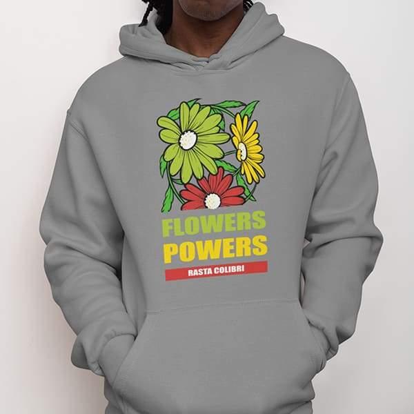 Sweat Rasta  Fleurs Tricolores