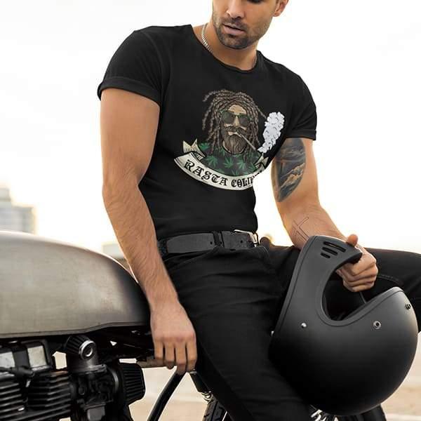 T-Shirt Rasta  Homme Vintage