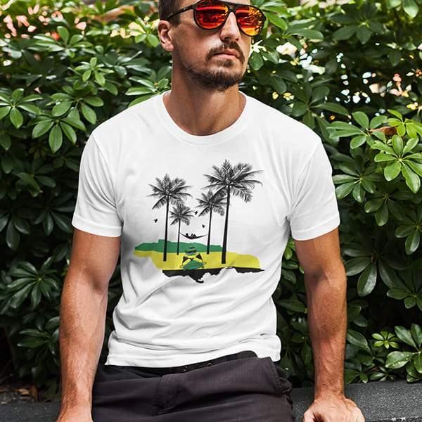 T-Shirt Rasta  Jamaica Style