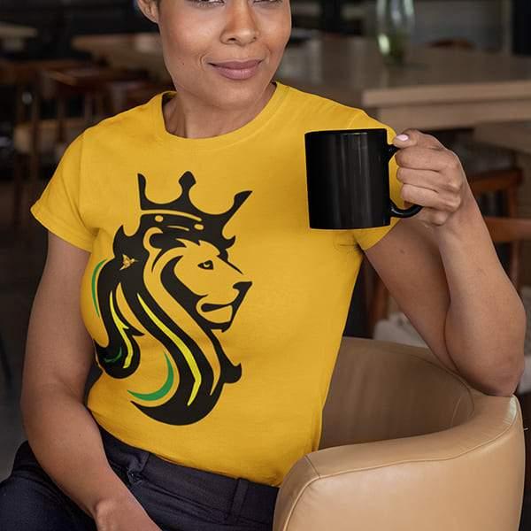 T-Shirt Rasta  Lion De Jamaïque