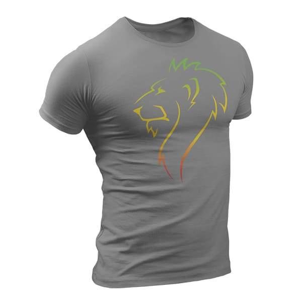 T-Shirt Rasta  Lion De Profil