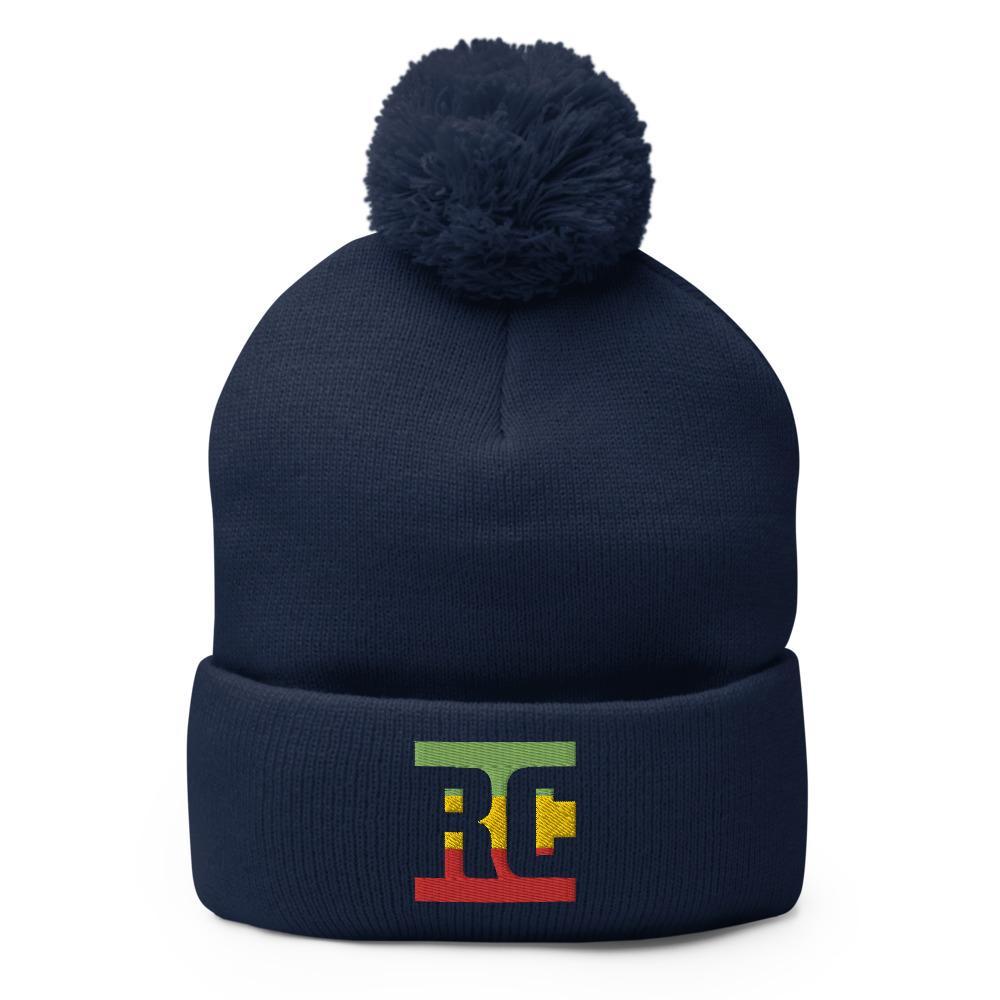 Bonnet Rasta  Pins RC (Pompon)