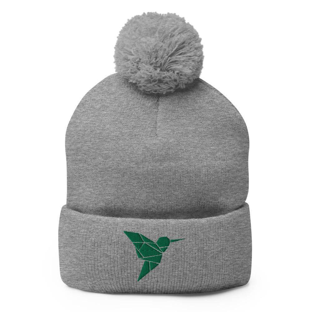 Bonnet Rasta  Colibri Vert (Pompon)