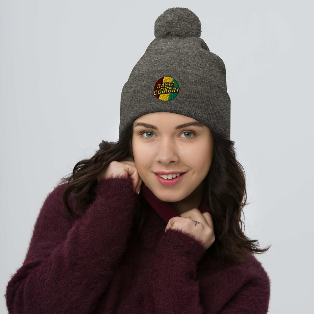 Bonnet Rasta  Snowboard Roots (Pompon)