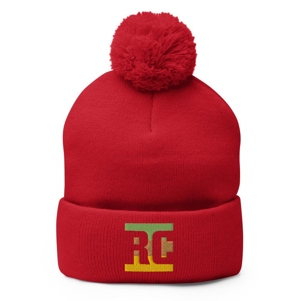 Bonnet Rasta  RC Cool (Pompon)