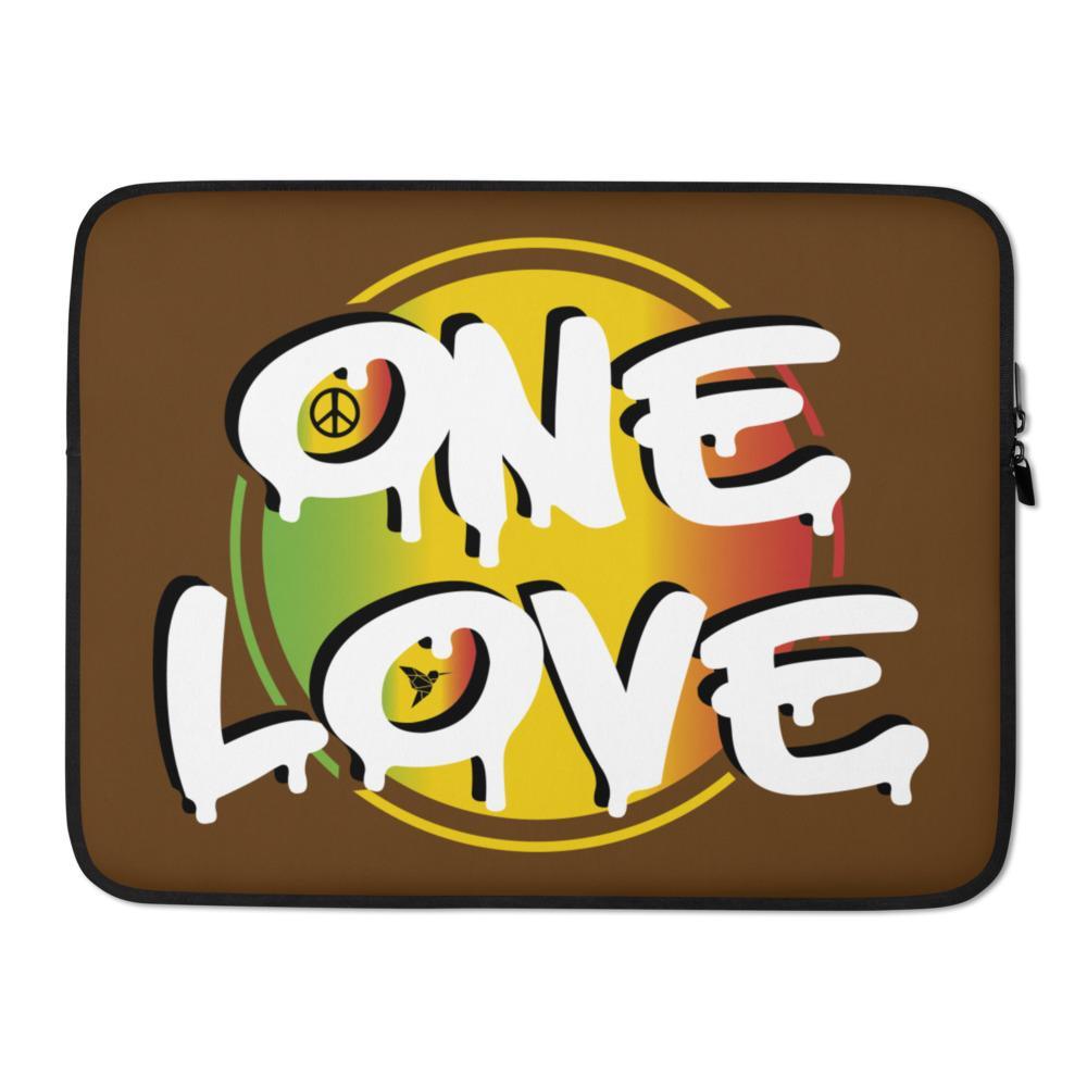 Housse PC Rasta  One Love & Sun
