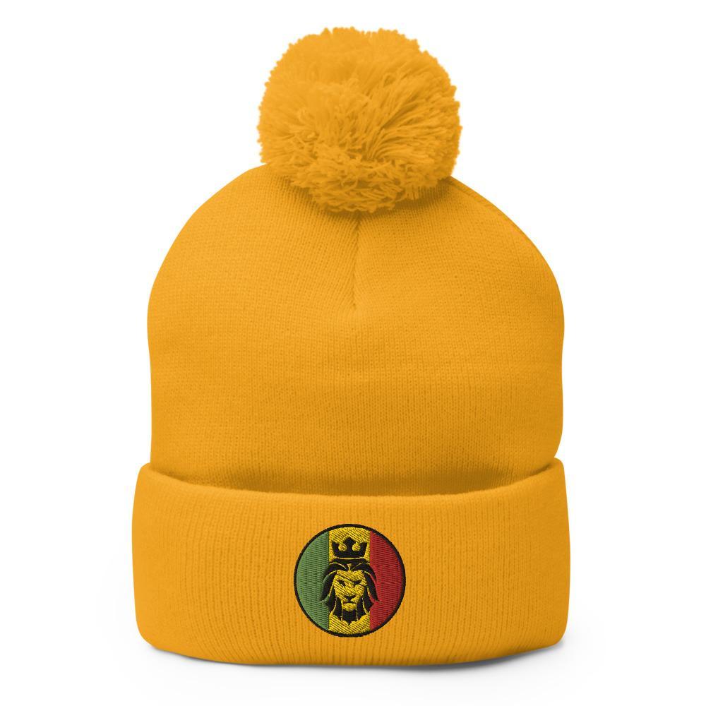 Bonnet Rasta  Lion Reggae (Pompon)