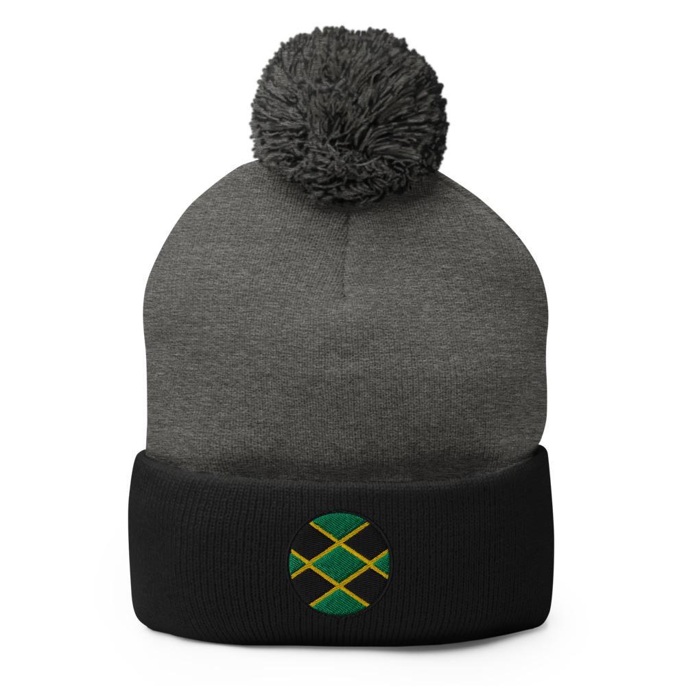 Bonnet Rasta  Couleur Jamaïque (Pompon)