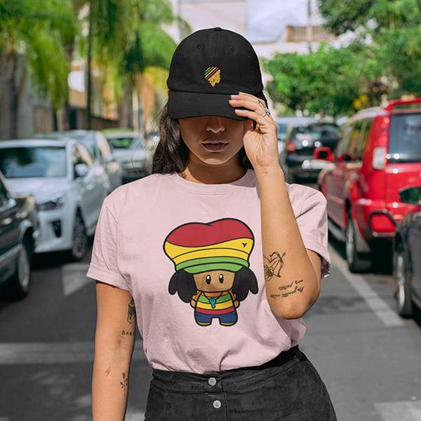 T-Shirt Rasta  Bébé Rastaman