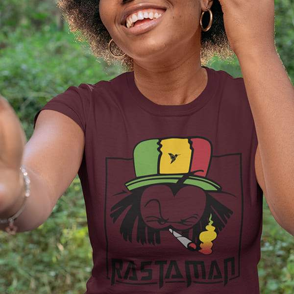 T-Shirt Rasta  Rastaman