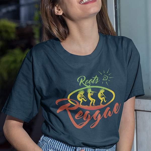 T-Shirt Rasta  Reggae Roots