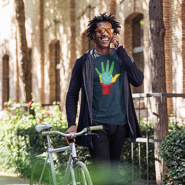 T-Shirt Rasta  Salut Éthiopie