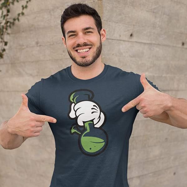 T-Shirt Rasta  Un, Deux et Trois !
