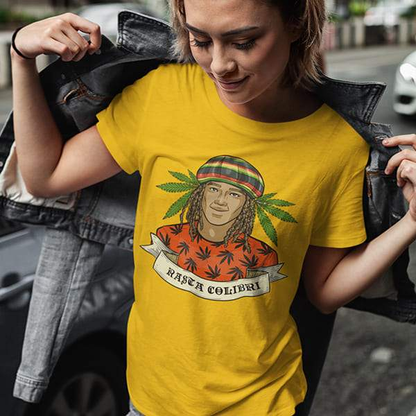 T-Shirt Rasta  Weed