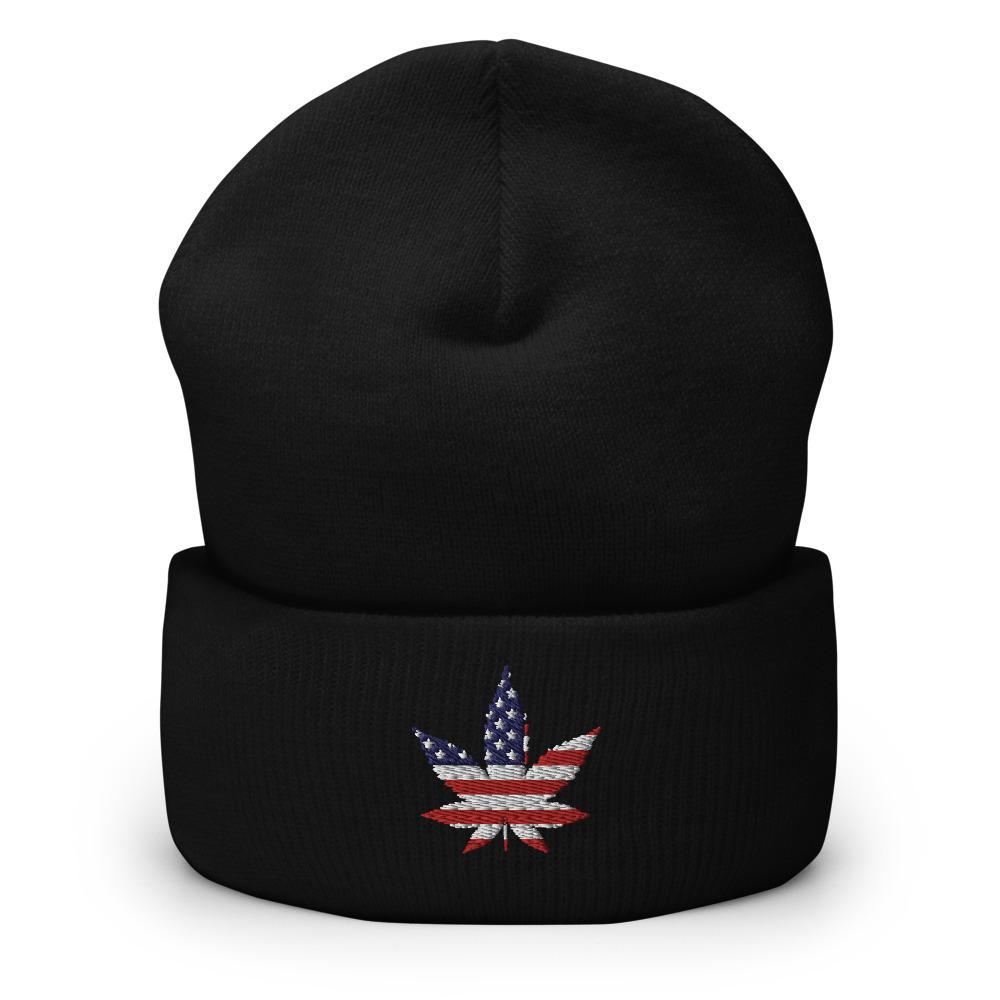 Bonnet Rasta  Cannabis USA (Classique)