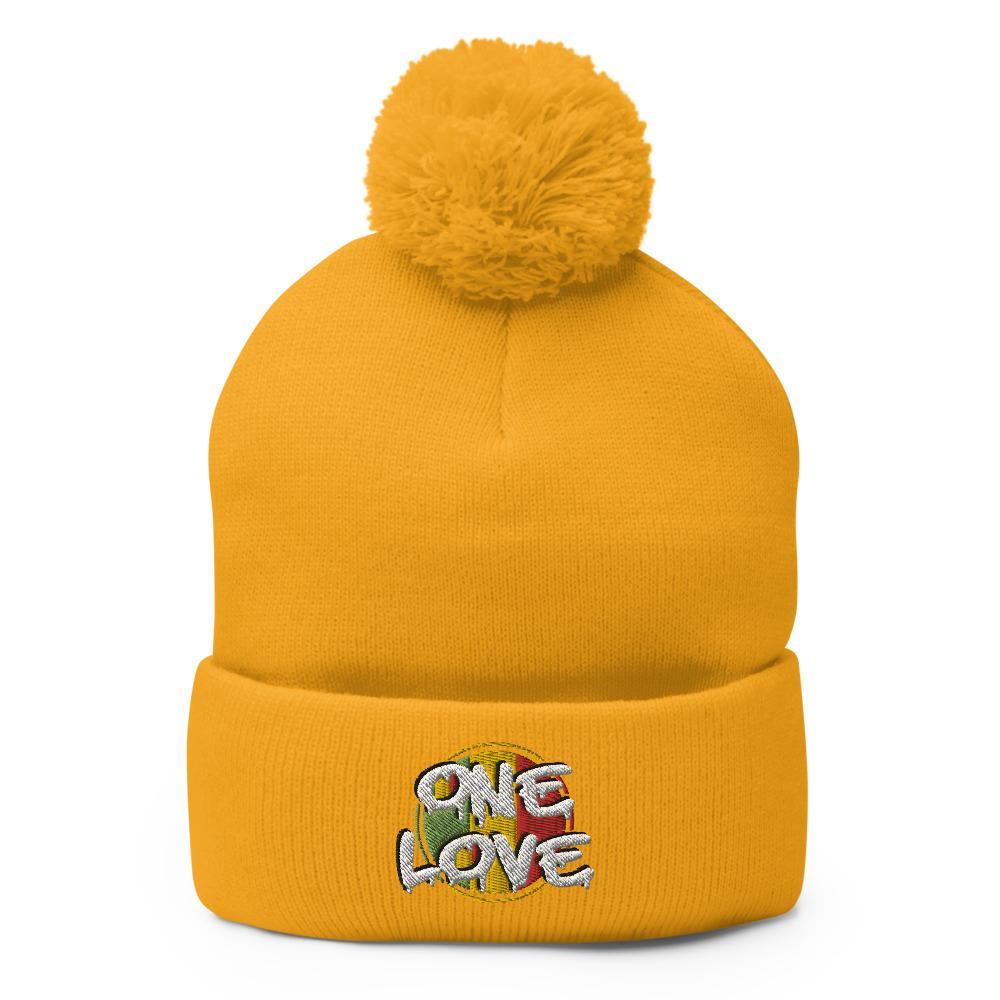 Bonnet Rasta  One Love (Pompon)