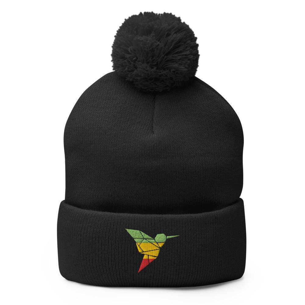 Bonnet Rasta  Reggae (Pompon)