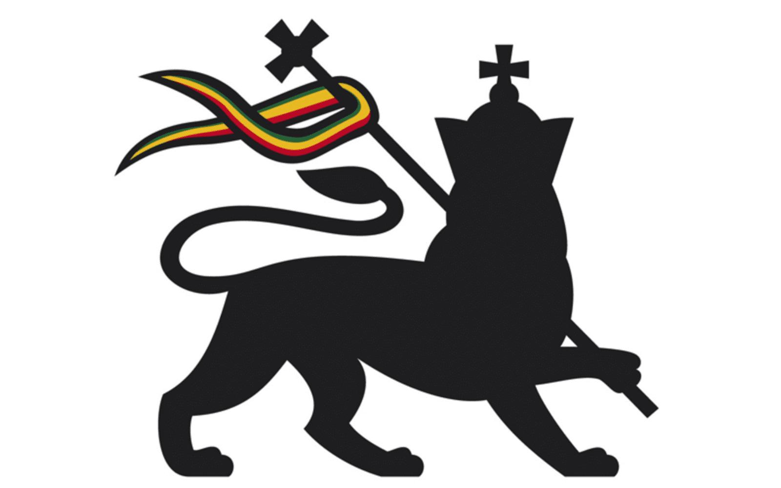Lion de judah symbole rastafari
