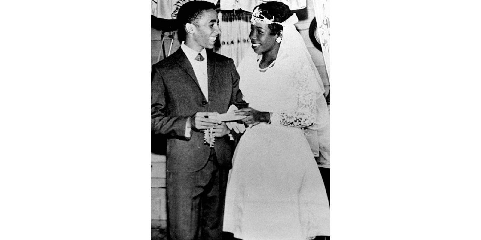 Mariage de Bob et Rita Marley